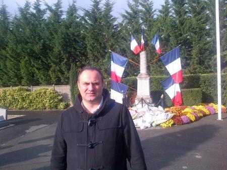 cérémonie de l'Armistice à Villepinte
