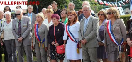 cérémonie de la liberation de  Villepinte