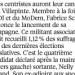 le Parisien du  8 Aout 2013
