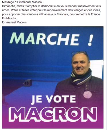 Je vote E.MACRON